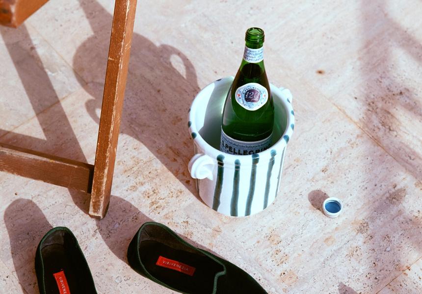 Alex and Trahanas Apulian Wine Cooler, $145