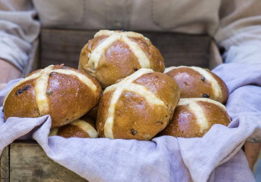 Phillippa's hot cross buns