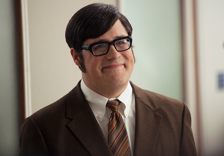 Rich Sommer in his most well-known guise, as Mad Men's Harry Crane.