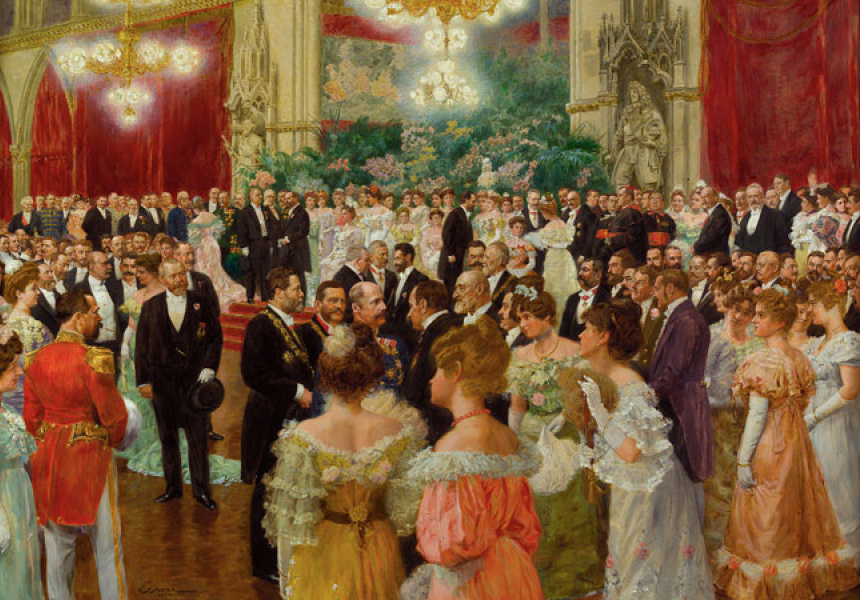 Wilhelm Gause, Germany 1853–1916, Vienna Municipal Ball 1904