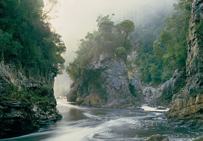One of the iconic Franklin River images that launched a major environmental battle in the early 1980s.