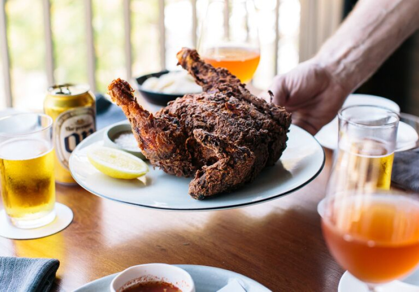 Moon Park Whole Fried Chicken