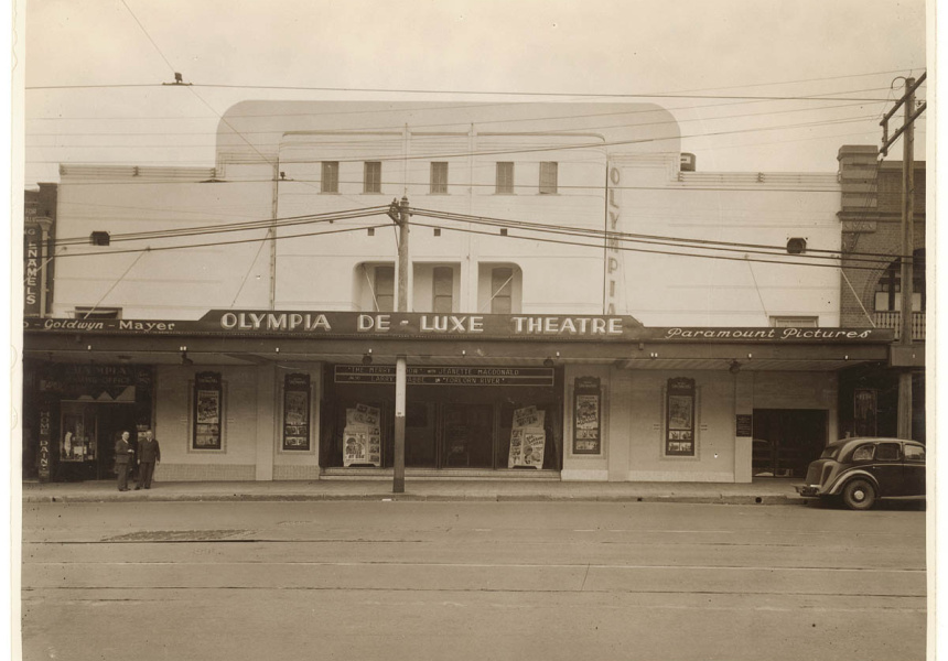 Olympia De Luxe Theatre was once served by Olympia Milk Bar.