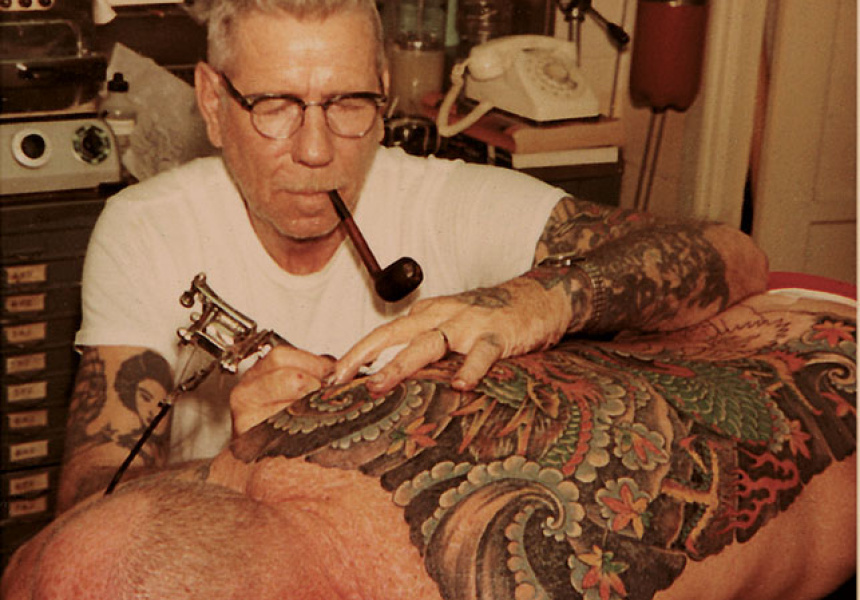 Sailor jerry the grandfather of classic american tattoos for Tattoo shops in norman