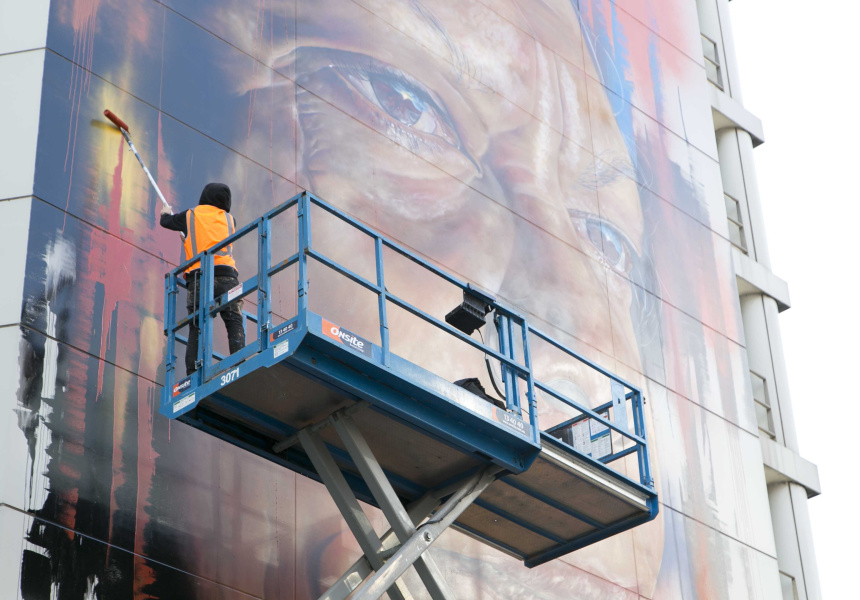 Portrait of Jenny Munro by Adnate