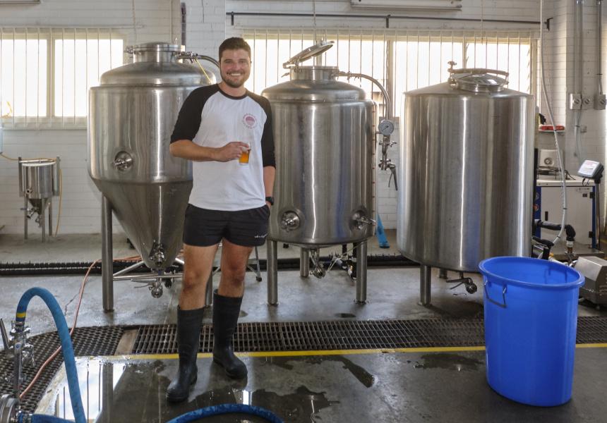 Daniel Burt of Golden West Brewing Co