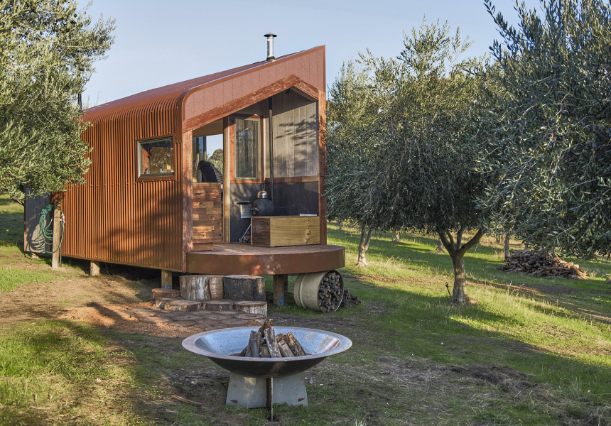 Explore Regional Victoria In Tiny Off The Grid Houses