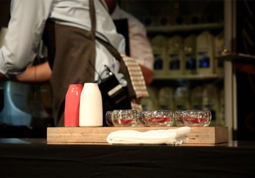 Second place signature drink by Matt Perger. Photography: Talor Browne.