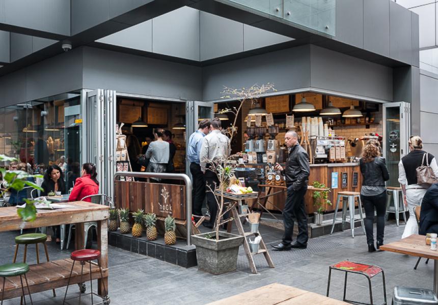 Nook Urban Fresh Bar Broadsheet