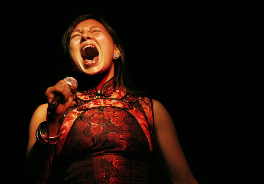 Tanya Tagaq. Picture courtesy of the artist and Dark Mofo, Hobart, Tasmania, Australia.