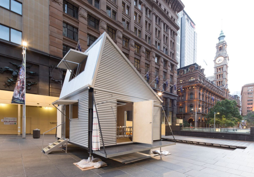 Carter Williamson Architects Emergency Shelter