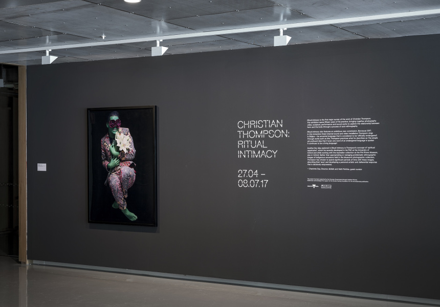 Christian Thompson's Ritual Intimacy at Monash University Museum of Art