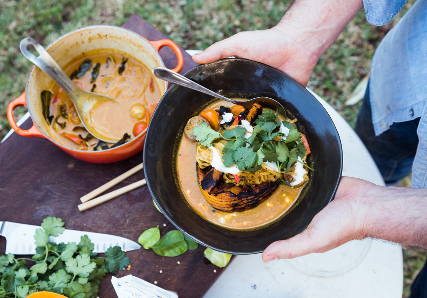 Griff Pamment's Thai Red-Curry Soup