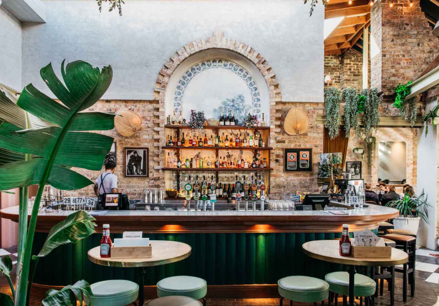 First Look: Surry Hills' Trinity Bar Undergoes a Dramatic