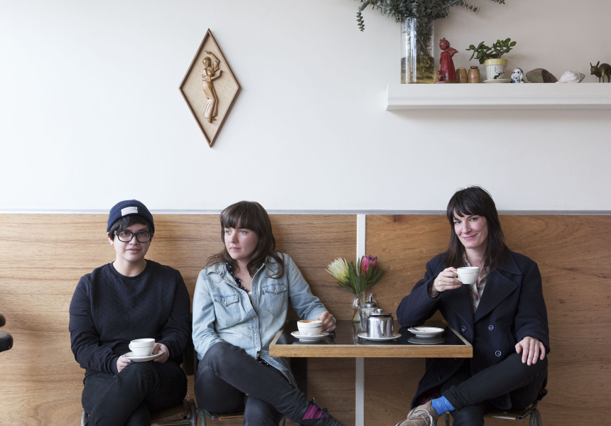Celeste Potter, Courtney Barnett, Jen Cloher