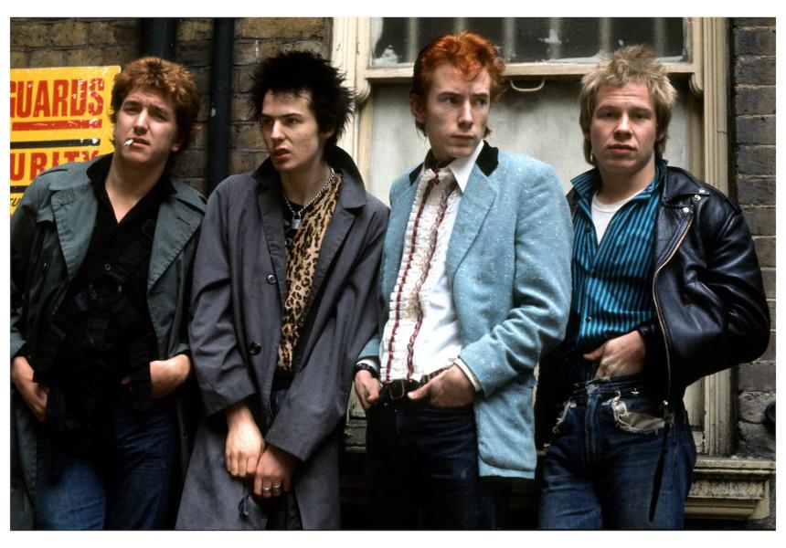 Pistols Glitterbest band shot