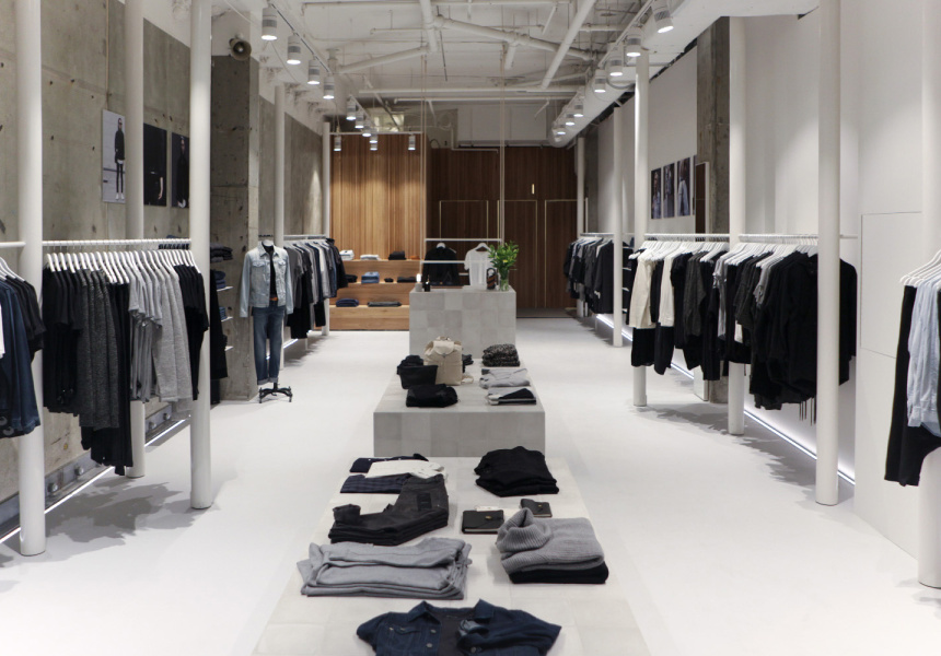 Clothing Store Design | Best Menswear Shopping In Melbourne Broadsheet