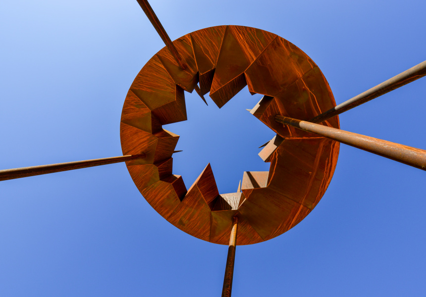 Celest by David Ball / Courtesy of Liverpool Sculpture Walk