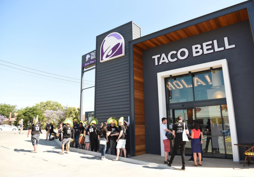 Taco Bell in Annerley, Queensland