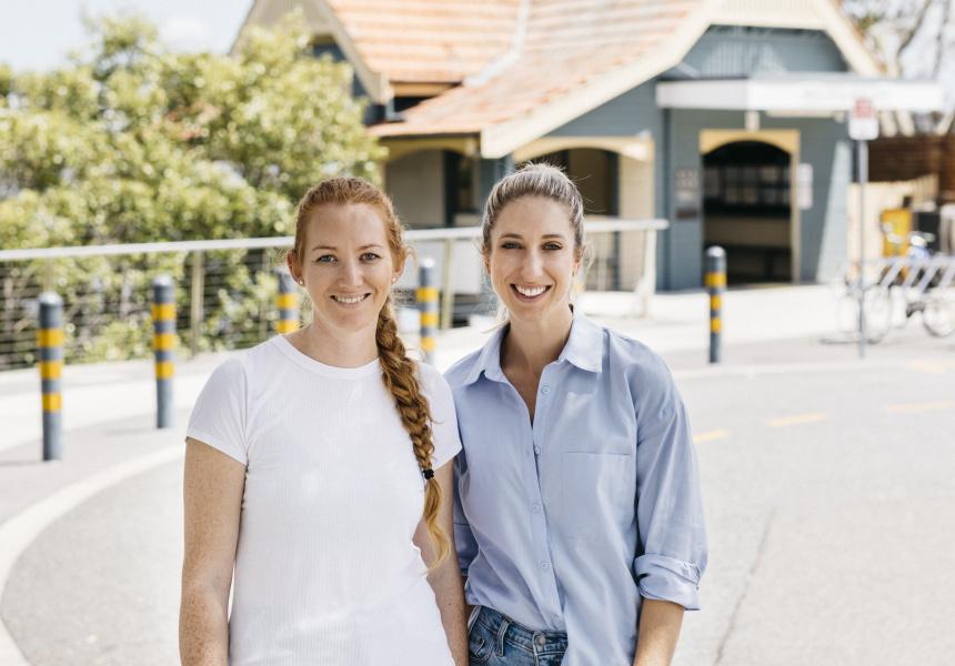 Lindsay Krahenbring and Giorgina Venzin