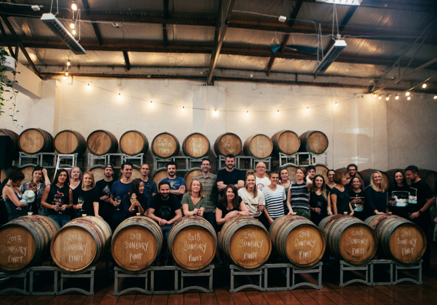 Winemaking classes at Noisy Ritual