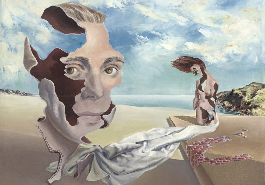 We inhabit the corrosive littoral of habit (1940), James Gleeson (Australian 1915–2008)