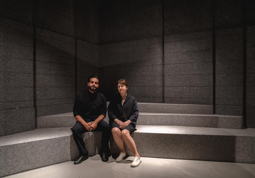 Peter Girgis and Denise Neri