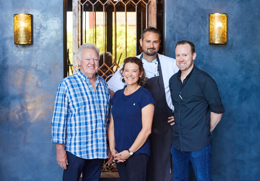 Ryan Blackburne, Renee Unsworth, Stuart Laws and Peter Unsworth of Duke of George.