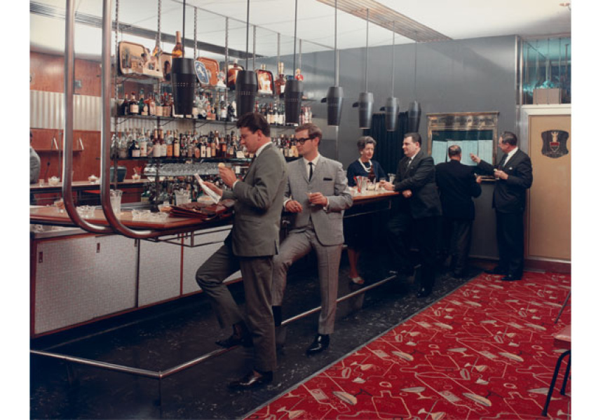 Wolfgang Sievers, Club Bar, Menzies Hotel, Melbourne, 1965.