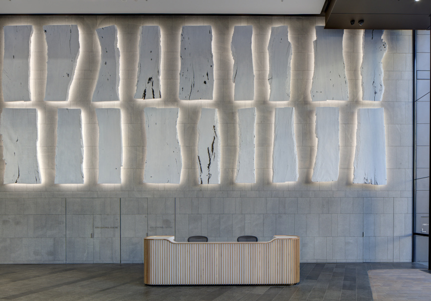 untitled (gum slabs) by Jonathan Jones