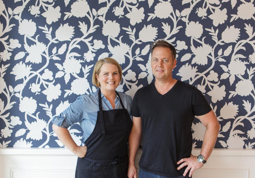 Alison and Brett Hutley