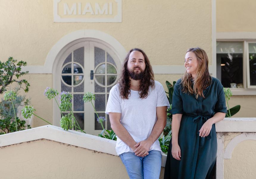 Jonno Rodd and Lucy Glade-Wright