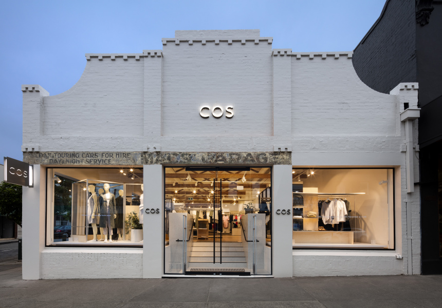 Cos Clothing Store Melbourne