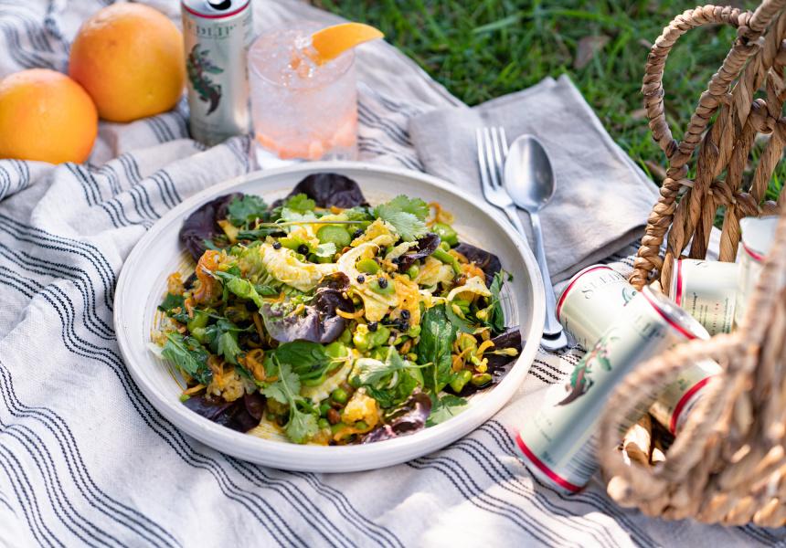 Daniel Alvarez's nutty and crispy spring rice salad
