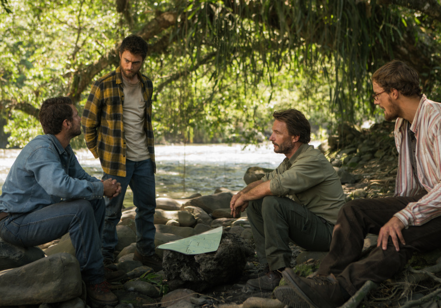 Daniel Radcliffe Struggles to Survive in 'Jungle' Trailer