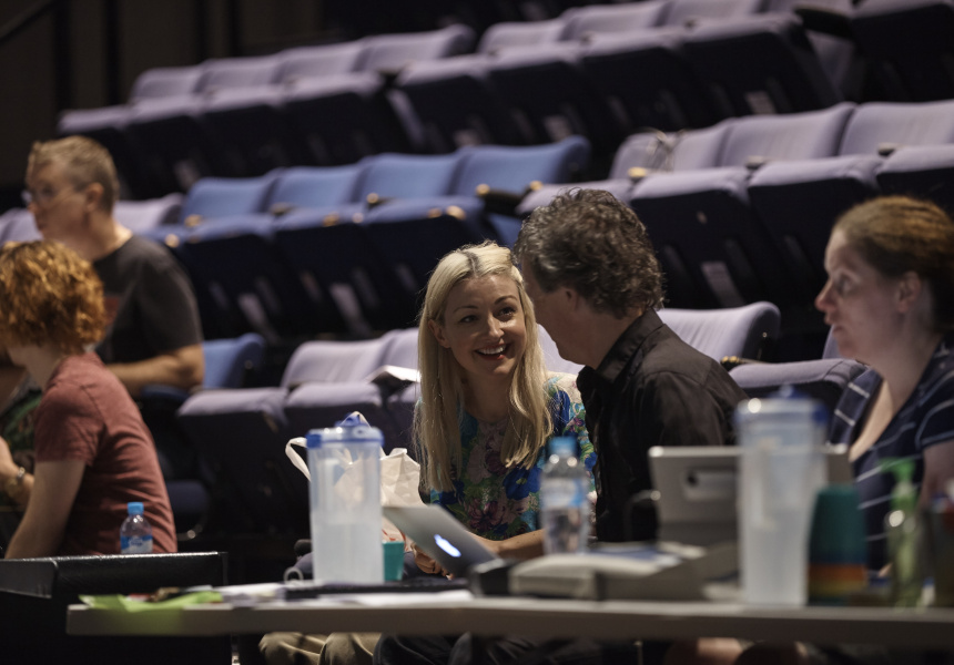 Kate Miller-Heidke and Simon Phillips