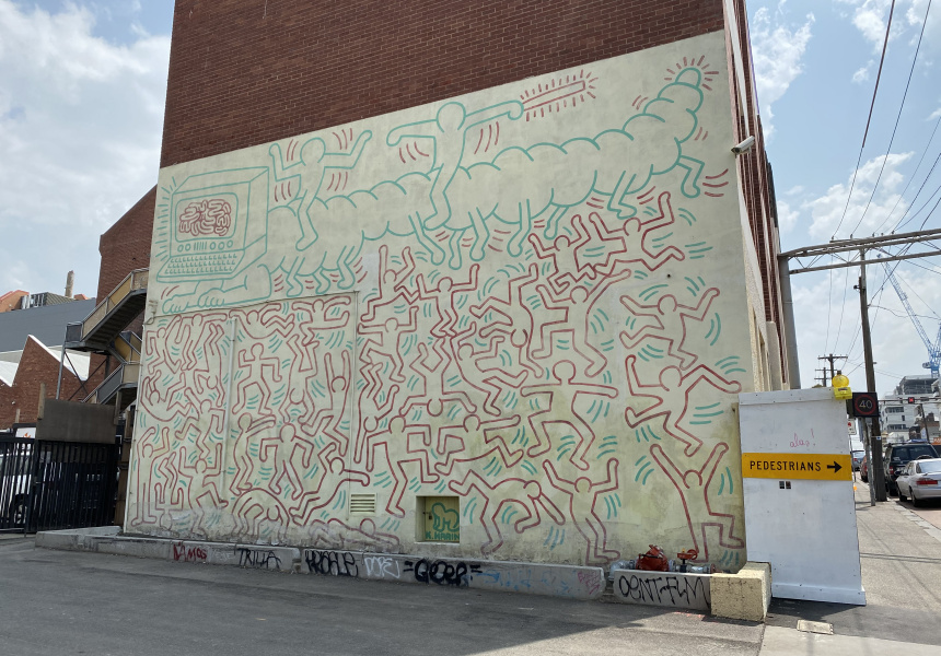 The 1984 Collingwood mural