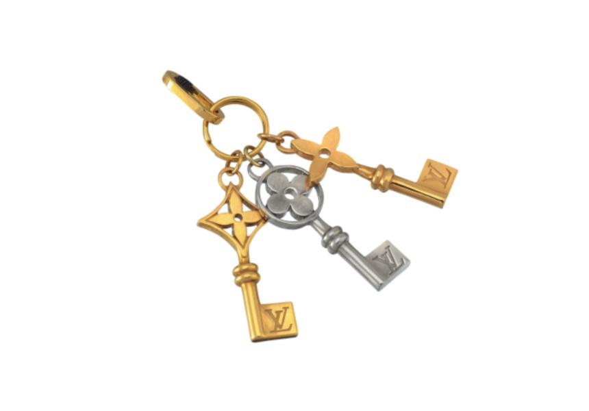 18CT TRI-COLOUR GOLD 'MONOGRAM IDYLLE' PENDANT, LOUIS VUITTON, SOTHEBY'S IMPORTANT JEWELS & WATCHES