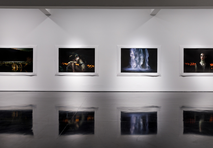 Installation view at Tolarno Galleries