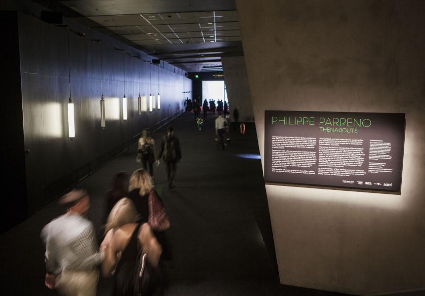 ACMI exhibition Philippe Parreno: Thenabouts