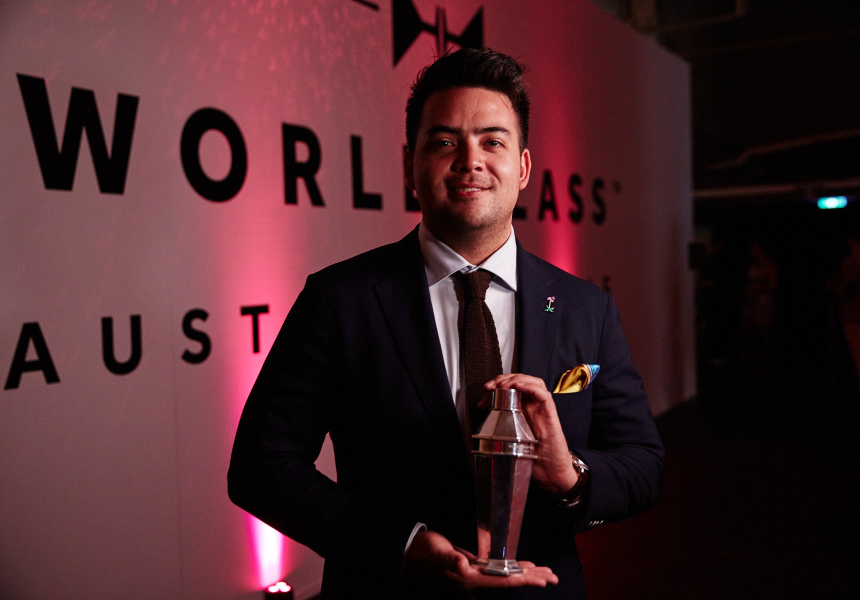 Charlie Ainsbury, World Class Australian Bartender of the Year 2016
