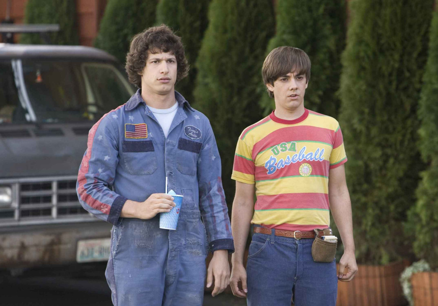 Andy Samberg as Rod Kimble and Jorma Taccone as Kevin