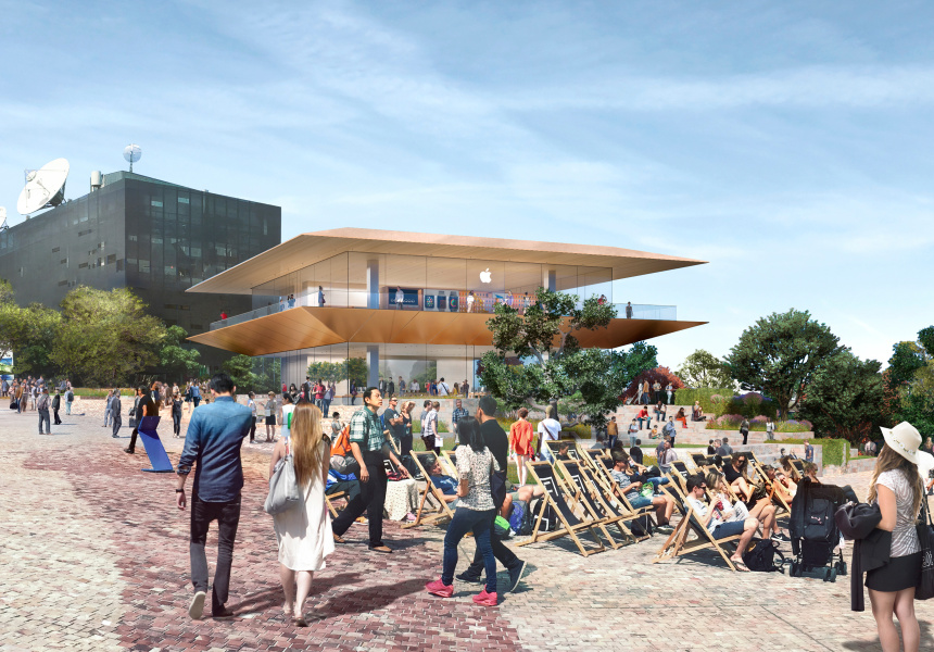 Apple to move into Federation Square site