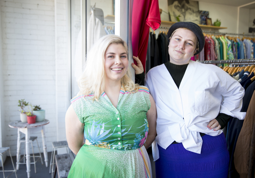 The Stitchery Collective's Anna Hickey and Kiara Bulley
