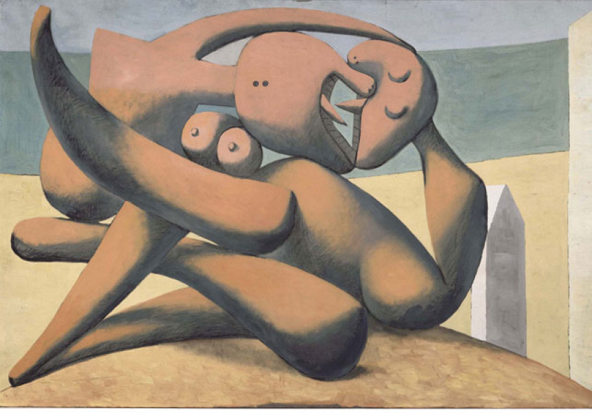 Figures a bord de la mer (Figures on the seashore), 1931, Pablo Picasso