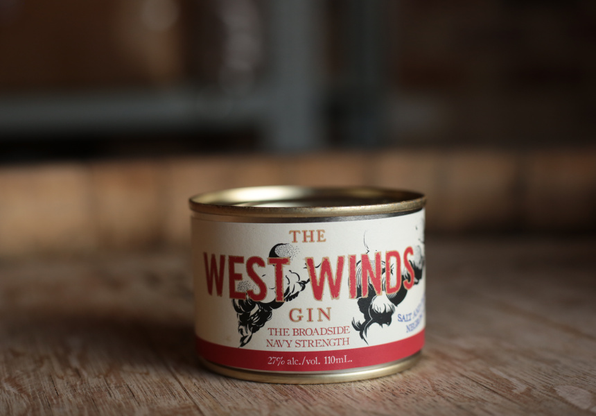 Salt and Pepperberry Negroni – The West Winds Gin