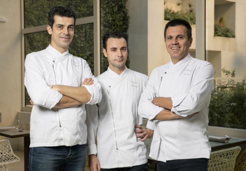 Mateu Casanas, Eduard Xatruch and Oriol Castro.