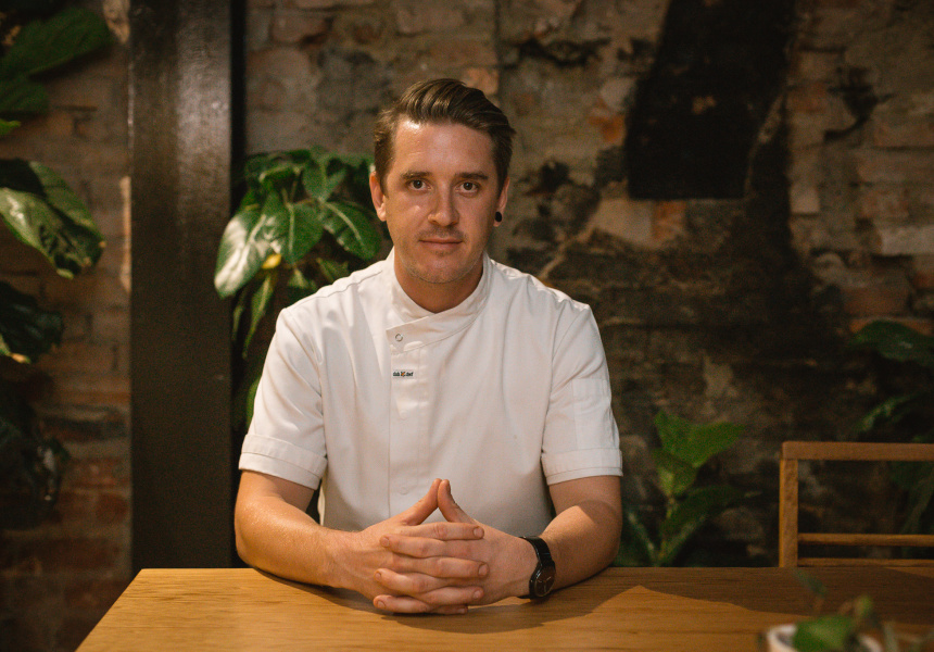 Chef and founder of The Social Food Project, Ben McMenamin