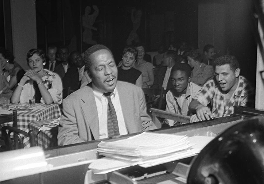 Bud Powell at Birdland in the mid-1950s