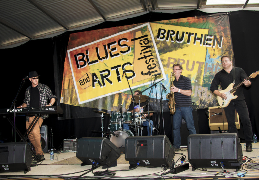 2017 Bruthen Blues & Arts Festival